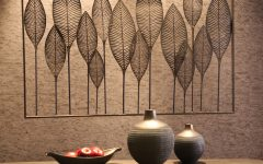 Metal Leaf Wall Decor By Red Barrel Studio