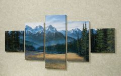 Mountains Canvas Wall Art