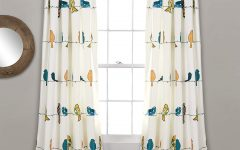 Rowley Birds Room Darkening Curtain Panel Pairs