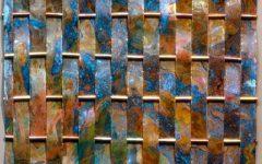 Woven Metal Wall Art