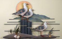 Seagull Metal Wall Art