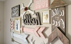 Girl Nursery Wall Accents