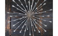 Silver Starburst Wall Art