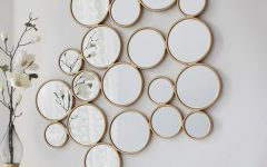 Small Round Decorative Wall Mirrors