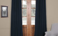 Solid Cotton True Blackout Curtain Panels