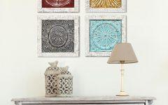 4 Piece Metal Wall Decor Sets