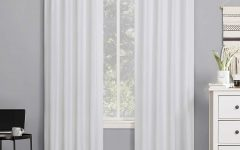 Cyrus Thermal Blackout Back Tab Curtain Panels