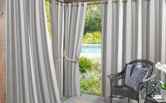 Valencia Cabana Stripe Indoor/outdoor Curtain Panels