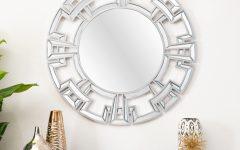Tata Openwork Round Wall Mirrors