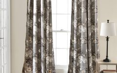 Gray Barn Dogwood Floral Curtain Panel Pairs
