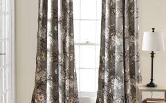 Gray Barn Dogwood Floral Curtain Panel Pairs