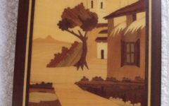 Italian Inlaid Wood Wall Art
