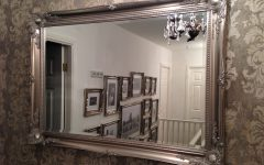 Large Vintage Wall Mirrors