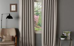 Insulated Thermal Blackout Curtain Panel Pairs