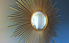 Sunburst Wall Mirrors