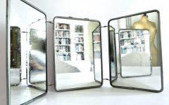 Tri Fold Wall Mirrors