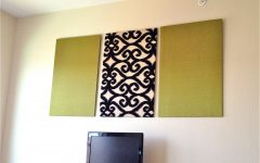 Fabric Panels for Wall Art