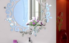 Flower Wall Mirrors