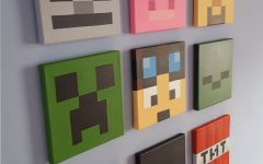 Minecraft Wall Art Uk