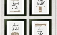 Framed Art Prints for Bathroom
