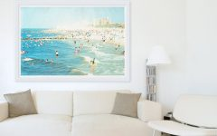 Framed Beach Art Prints