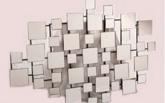 Abstract Mirror Wall Art