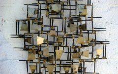 Abstract Geometric Metal Wall Art