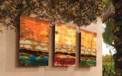 Copper Outdoor Wall Art