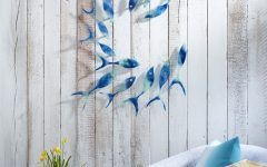 Fused Glass Fish Wall Art
