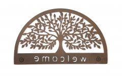 Tree Welcome Sign Wall Decor