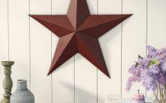 Raised Star Wall Decor