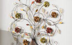 Raheem Flowers Metal Wall Decor by Alcott Hill