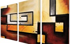 3 Piece Modern Wall Art