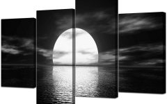 Black And White Canvas Wall Art