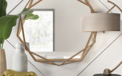 Dekalb Modern & Contemporary Distressed Accent Mirrors