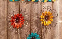 Jeweled Metal Wall Art
