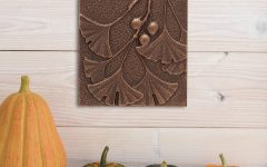 Ginkgo Leaf Metal Wall Décor by Winston Porter