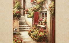 Italian Garden Wall Art