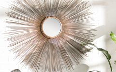 Jarrod Sunburst Accent Mirrors