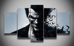 Joker Canvas Wall Art