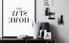 Typography Canvas Wall Art