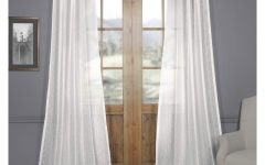Montpellier Striped Linen Sheer Curtains