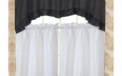 Bermuda Ruffle Kitchen Curtain Tier Sets