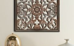 Brown Panel Wall Décor by World Menagerie