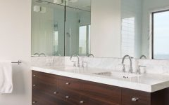 Wall Mirrors for Bathroom Vanities