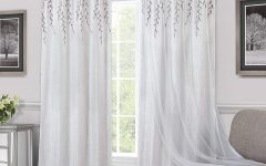 Willow Rod Pocket Window Curtain Panels