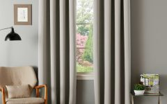 Insulated Blackout Grommet Window Curtain Panel Pairs