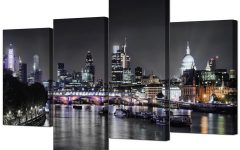 Canvas Wall Art of London