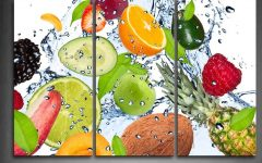 Blended Fabric Fruity Bouquets Wall Hangings