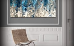 Gray Abstract Wall Art